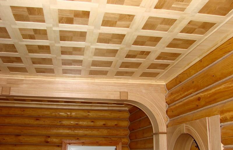 Как сделать потолок из дсп