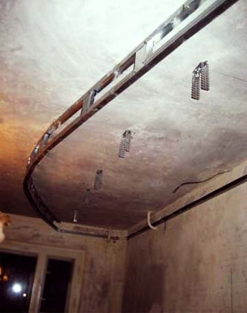 Двухуровневый потолок своими руками фото