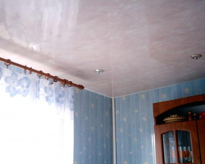 фото и пвх потолки панелей с гипсокартоном