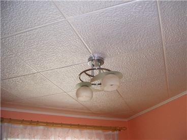 Оформление потолка потолочными плитами