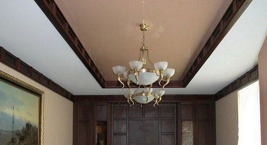 Тканевые потолки могут быть матовыми и глянцевыми