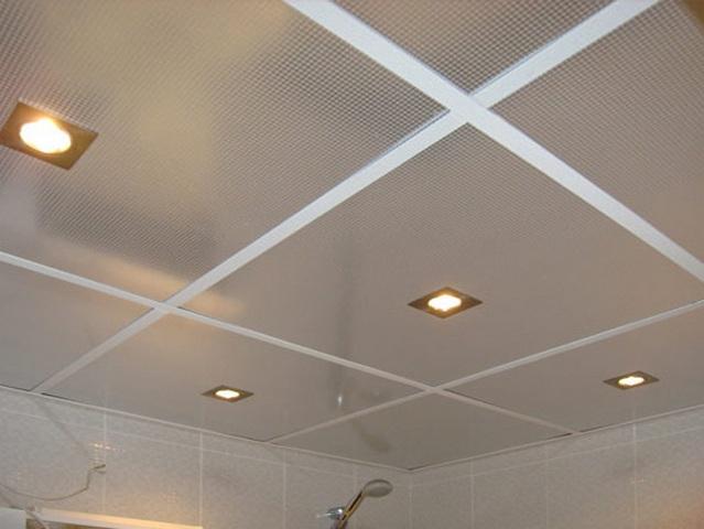 Гипсокартонный потолок одноуровневый