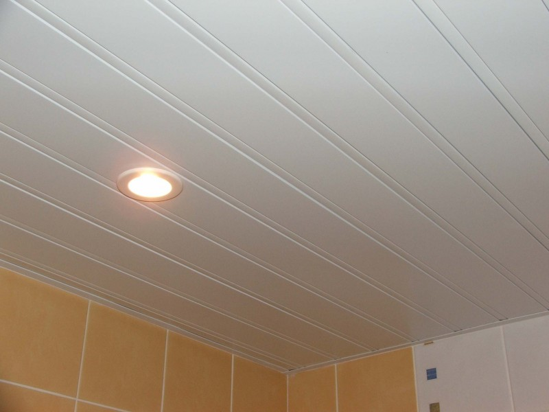 Как делать реечный потолок 66