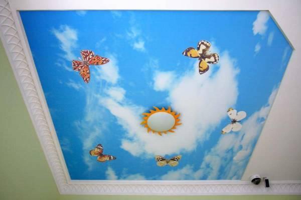 Интерьер детской комнаты должен быть красивым