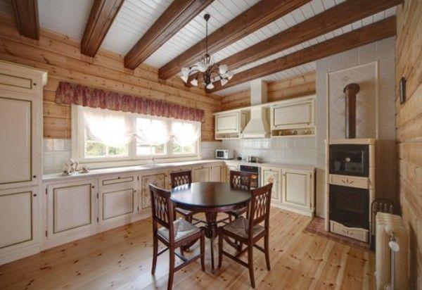 Потолок в стиле прованс (51 фото): светильники потолочные шале ...