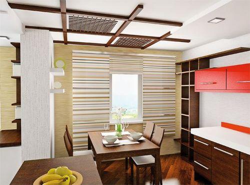 Сделать потолок в японский стиль своими руками