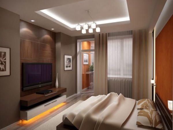 Прекрасный пример того, что и в комнате с низкими потолками можно сделать освещение удобным и комфортным.