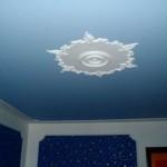 Пример крашеного потолка