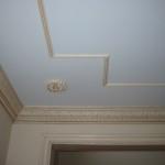 Пример покраски потолка