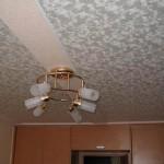 Пример тканевого потолка