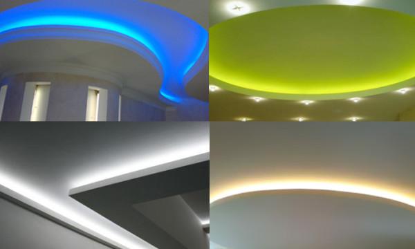 Примеры скрытой подсветки