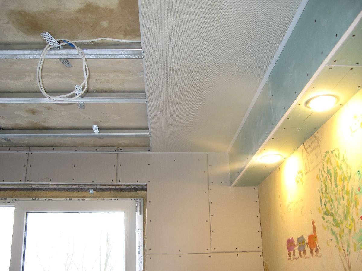 Потолок из панелей своими руками - как обшить потолок 57