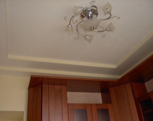 Рамочный многоуровневый потолок