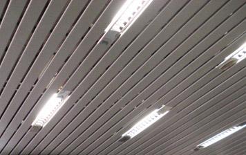 реечные потолки алюминиевые