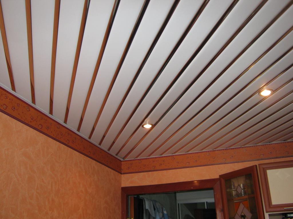 Реечный потолок, особенности
