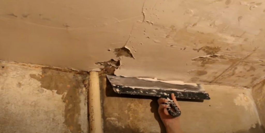 Как шпаклевать потолок новичку без опыта