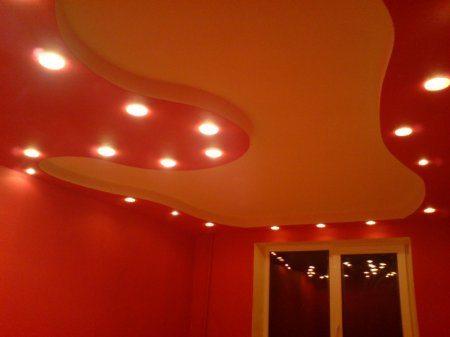 Двухуровневые потолки из гипсокартона своими руками: подробный обзор и видеоурок