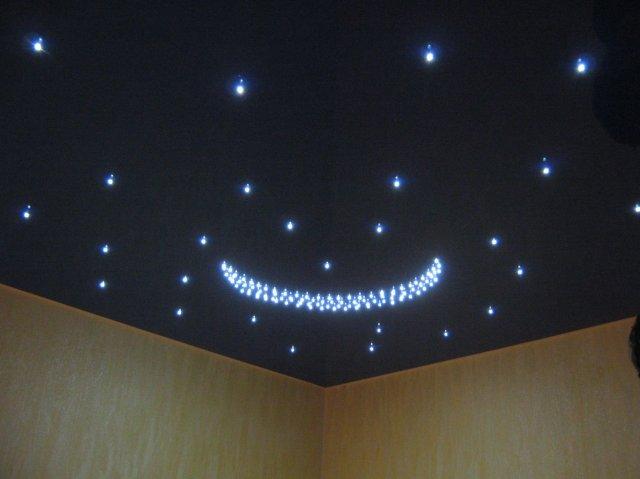 Красивые потолки из гипсокартона: потолки с фотопечатью