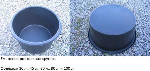Самый удобный вариант на 30 литров стоит примерно 350 рублей