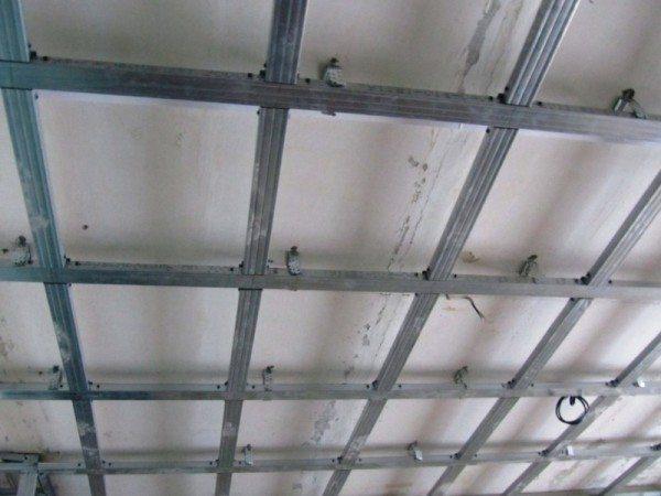 Основные правила по монтажу потолка.