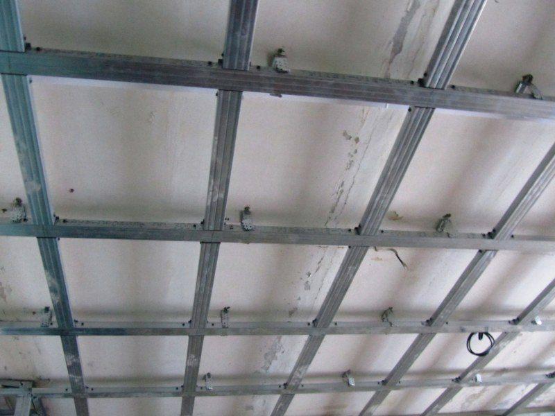 схемы потолков из гипсокартона
