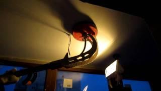 Шлифовка с контролем ровности световым прожектором
