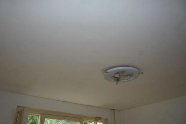 Наша цель - устранить мелкие дефекты потолка и выровнять его поверхность.