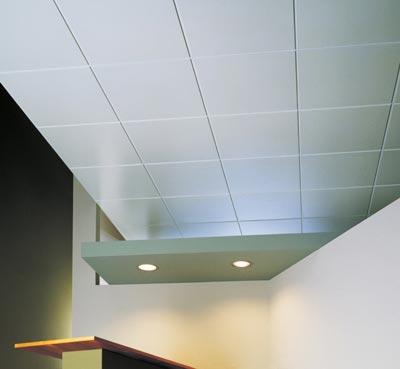 Штампованная плитка на потолке