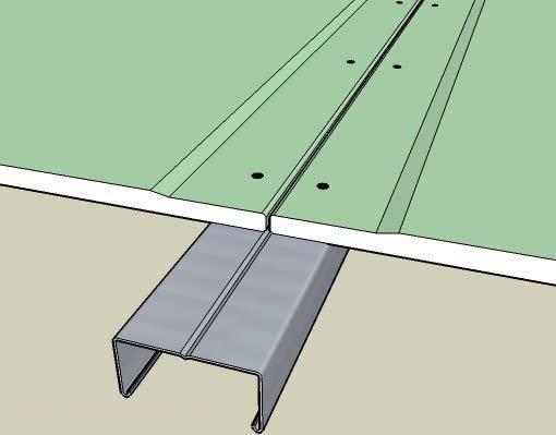 Правильный метод крепления листов гипсокартона к профилю