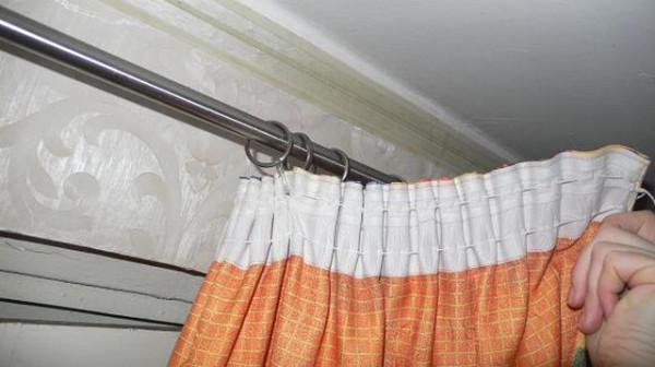 Специальная лента для штор обеспечит равномерное распределение крючков
