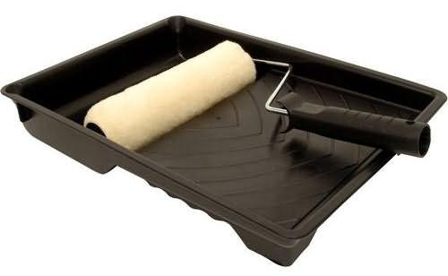 Сразу приобретите и ванночку под валик – работать с ней намного удобнее