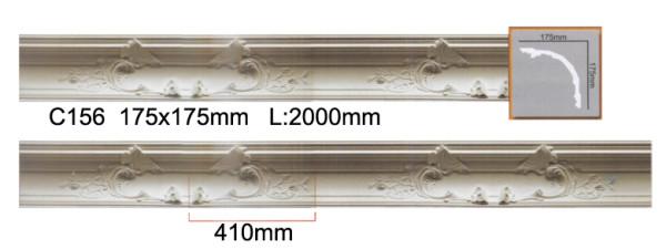Стандартный размер планки составляет 2 м, но нужно учитывать повторяемость рисунка