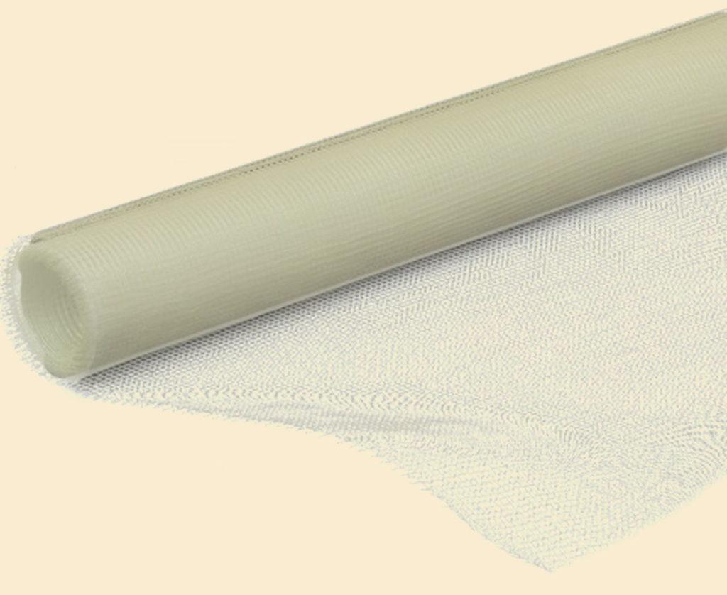 Стеклосетка позволяет укрепить поверхность при нанесении толстого слоя штукатурки
