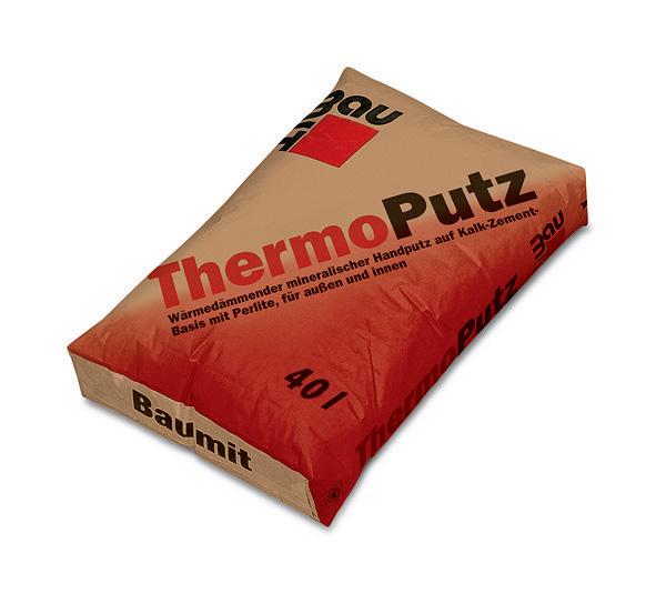 Сухая смесь Baumit ThermoPutz 40