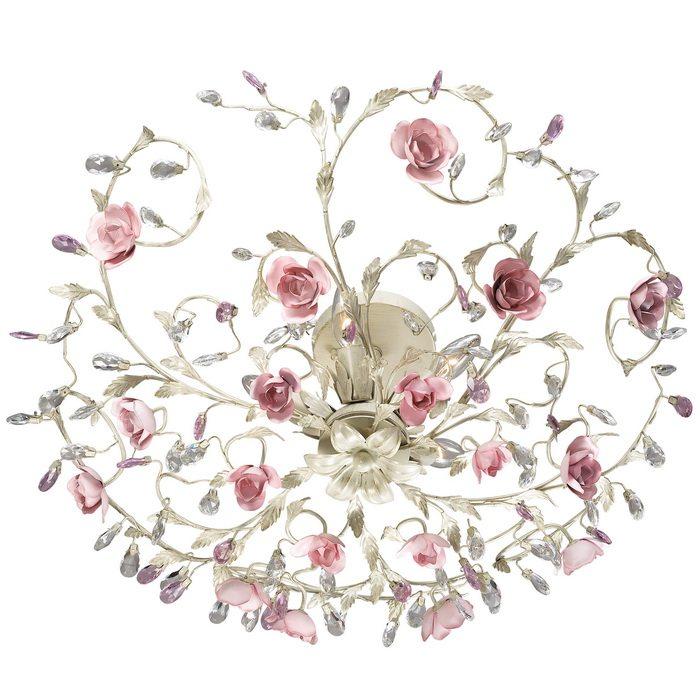 Светильники флористика - это большие букеты цветов, изящно свисающие с потолка, а современные технологии энергосберегающих ламп делают их еще и очень выгодными.
