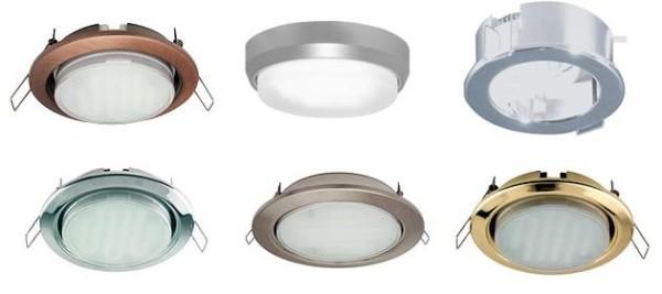 Светильники потолочные точечные – огромный выбор