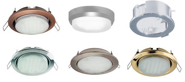 Огромный выбор точечных потолочных светильников