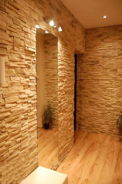 Освещение зеркальной зоны в коридоре
