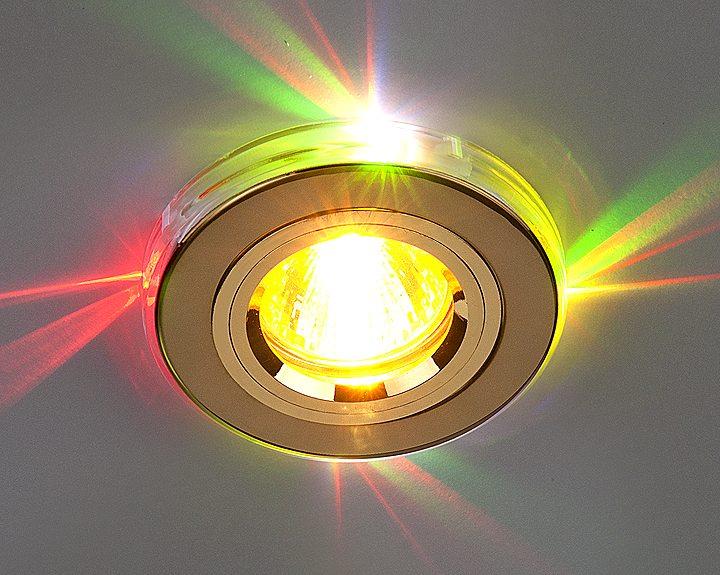 Встраиваемый потолочный светильник.