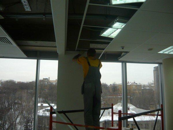светодиодные лампы для подвесных потолков