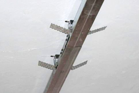технология установки подвесных потолков из гипсокартона