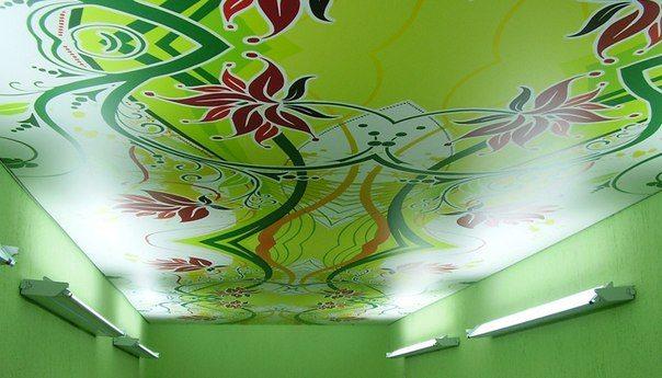 Немецкие натяжные потолки тканевые можно встретить в любом в интерьере