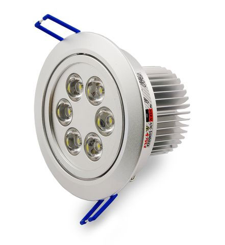 Точечный встраиваемый светильник со светодиодной лампой