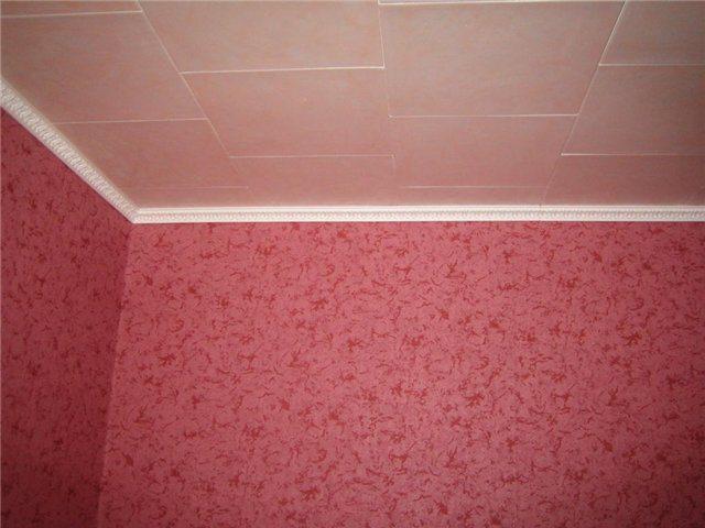 Отделка потолка потолочной плиткой своими руками