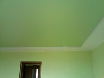 Потолок и стены в единой палитре