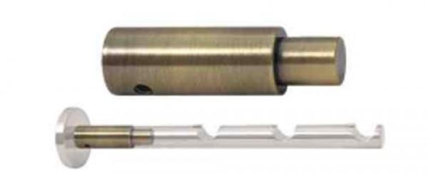 Удлинитель кронштейна с диаметром 16 мм для карнизов
