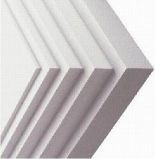 Потолочный пенопласт разной толщины