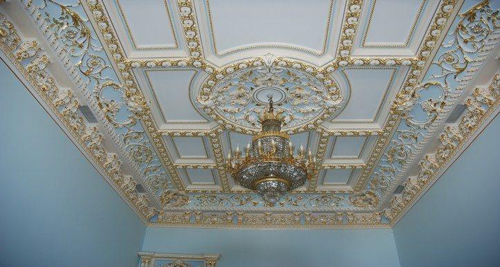 Классический потолок своими руками