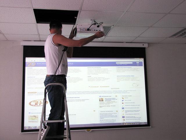 Как сделать экран для проектора своими руками 179
