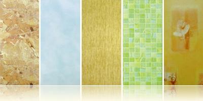 Широкий выбор дизайна и размеров пластиковых панелей